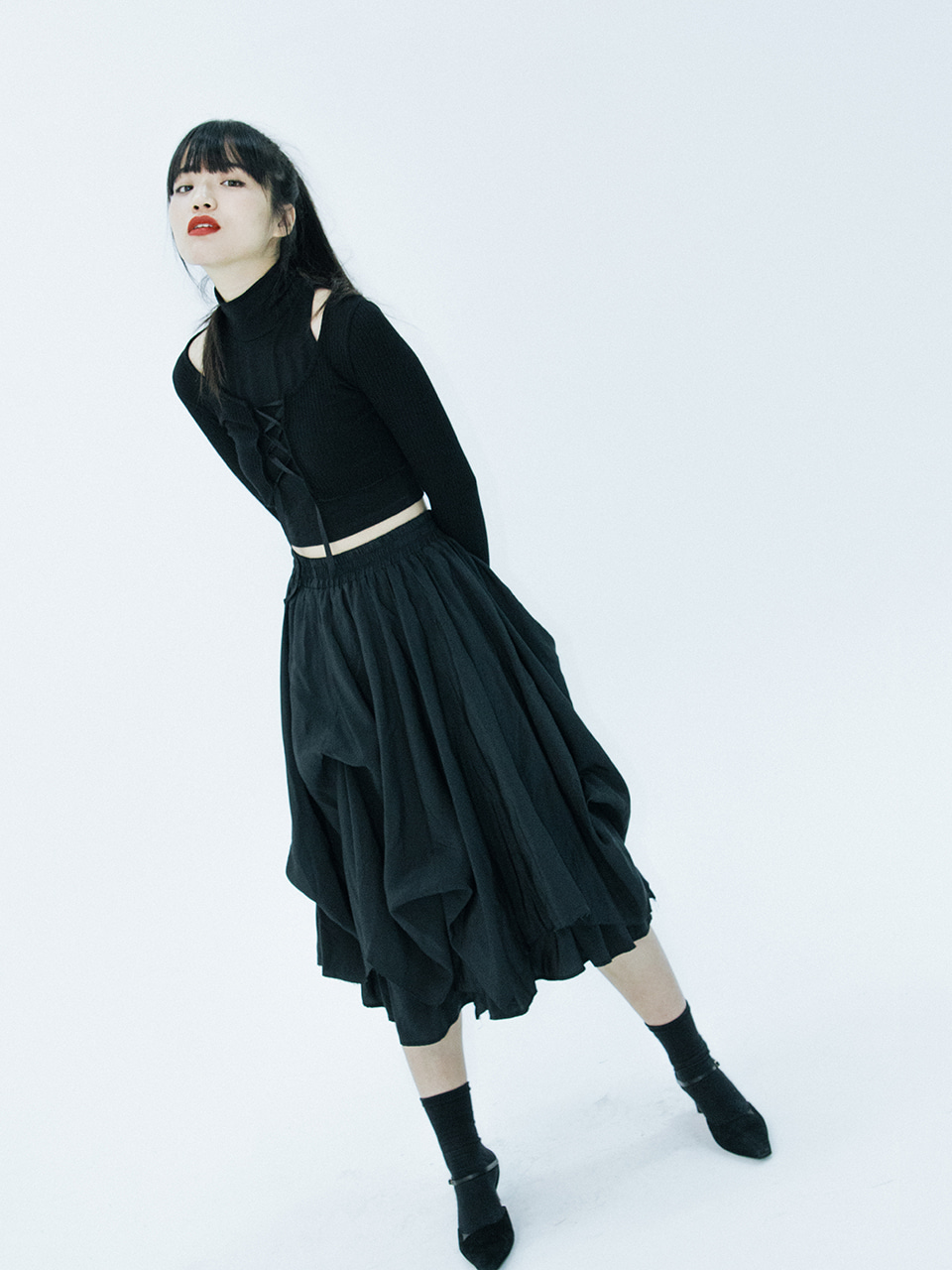 Unbalance volume skirt (black)